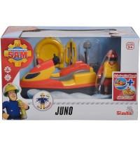 Simba - Feuerwehrmann Sam - Sam Juno, Jet Ski mit Figur
