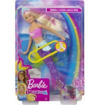 Mattel - Barbie - Dreamtopia Glitzerlicht Meerjungfrau mit Licht