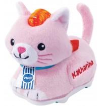 VTech - Tut Tut - Tip Tap - Tip Tap Baby Tiere - Plüsch-Katze pink