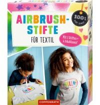 Coppenrath Verlag - Airbrush-Stifte für Textil (100% selbst gemacht)