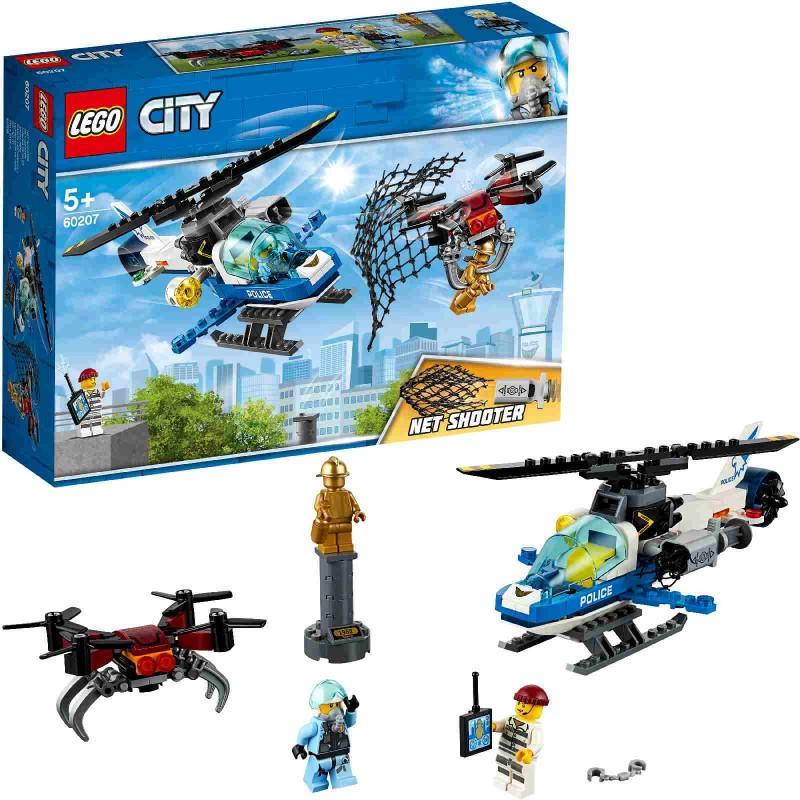 LEGO City Police - 60207 Polizei Drohnenjagd
