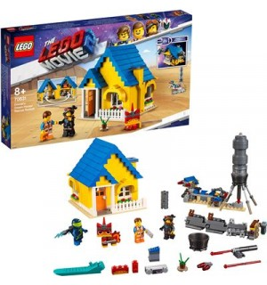 LEGO Movie 2 - 70831 Emmets Traumhaus/Rettungsrakete!