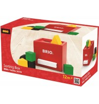 BRIO - Toddler Sorting Boxes - Rote Sortier-Box
