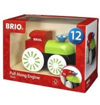 BRIO - Toddler - Push Alongs - Bunte Nachziehlok