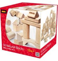 BRIO - Toddler Building Sets - Natur Holzbausteine 50 Teile