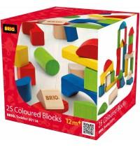 BRIO - Toddler Building Sets - Bunte Holzbausteine 25 Teile