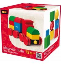 BRIO - Toddler Building Sets - Magnetischer Holz-Zug
