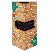 Heye Dreieckpuzzle 4000 Teile - Degano, Historia Comica - Opus 2