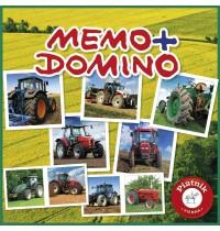 Piatnik - Memo + Domino Traktoren