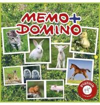 Piatnik - Memo + Domino Tierbabies