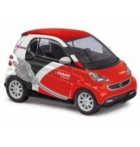 Busch Modellbahnzubehör - Smart Fortwo Coupé 2012 Flinkster