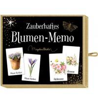 Coppenrath Verlag - Schachtelspiel – Zauberhaftes Blumen-Memo (M. Bastin)