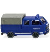Wiking - THW - VW T3 Doppelkabine