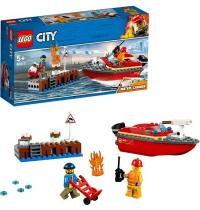 LEGO - City 60213 - Feuerwehr am Hafen