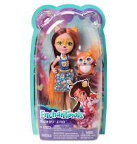 Mattel - Enchantimals Felicity Fox und Flick
