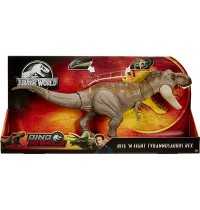 Mattel - Jurassic World - Dino Rivals Superbiss-Kampfaction Tyrannosaurus Rex