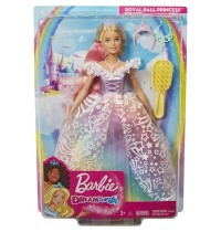 Mattel - Barbie Dreamtopia Ultimate Princess Puppe, blond