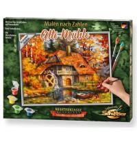 Schipper Arts & Crafts - Meisterklasse - Klassiker - Malen-nach-Zahlen Alte Mühle
