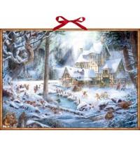Coppenrath Verlag - Wand-Adventskalender - Weihnachten auf dem Mühlenhof