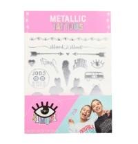 J1MO71 Metallic Tattoos