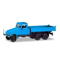 IFA G5 Dreiseitenkipper, blau