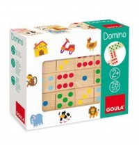 Jumbo Spiele - Domino Farben und Zahlen