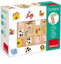 Jumbo Spiele - Domino Bauernhof