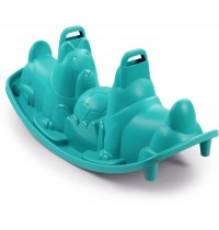 Smoby - Outdoor - Hunde-Wippe, blau