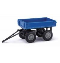 Anhänger/E-Karre blau