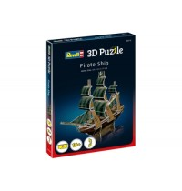 Revell - 3D Puzzle - Piratenschiff