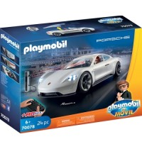 PLAYMOBIL 70078 - The Movie - Rex Dasher's Porsche Mission E