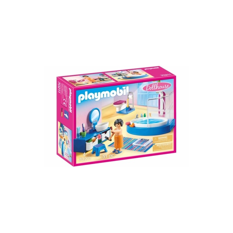 PLAYMOBIL 70211 - Dollhouse - Badezimmer_PLAYMOBIL®_4008789702111