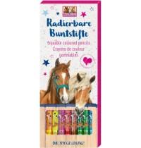 Radierbare Buntstifte  Pferde