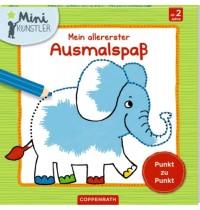 Coppenrath Verlag - Mini-Künstler - Mein allererster Ausmalspaß - Punkt zu Punkt