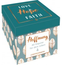 Coppenrath Verlag - Sprüchebox - Love, Hope, Faith - Hoffnung
