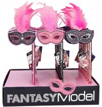 Depesche - Fantasy Model - Bleistift mit Maske und Federn