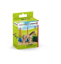 Schleich - Farm World - Pony Slalom