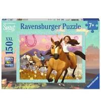 Ravensburger Puzzle - Spirit - wild und frei - Spirit der wilde Mustang, 150 Teile