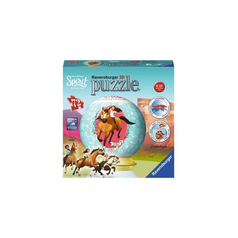 Ravensburger Puzzle - 3D Puzzleball - Spirit, 72 Teile
