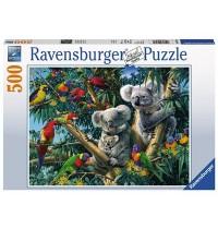 Ravensburger Puzzle - Koalas im Baum, 500 Teile