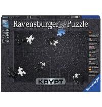 Ravensburger Puzzle - Krypt Black, 736 Teile