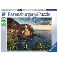 Ravensburger Puzzle - Blick auf Cinque Terre, 1500 Teile