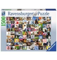 Ravensburger Puzzle - 99 Katzen, 1500 Teile