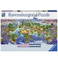 Ravensburger Puzzle - Wunder der Welt, 2000 Teile