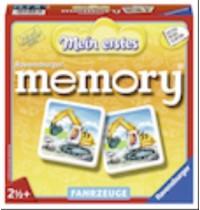 Ravensburger Spiel - Mein erstes memory - Fahrzeuge