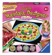 Mini Mand. met. Romantic Mandala-Designer® Metallic