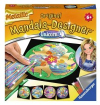 Mini Mand. met. Unicorn Mandala-Designer® Metallic