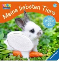 Ravensburger Bilderbuch - Meine liebsten Tiere - Zum Streicheln und Fühlen