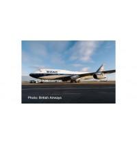 B747-400 BA-BOAC Retro