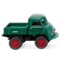 Wiking - Unimog U 401 mit Doppelbereifung - moosgrün